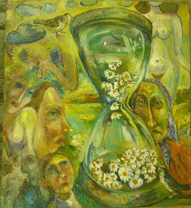 art-moiseeva.ru - Flower clock