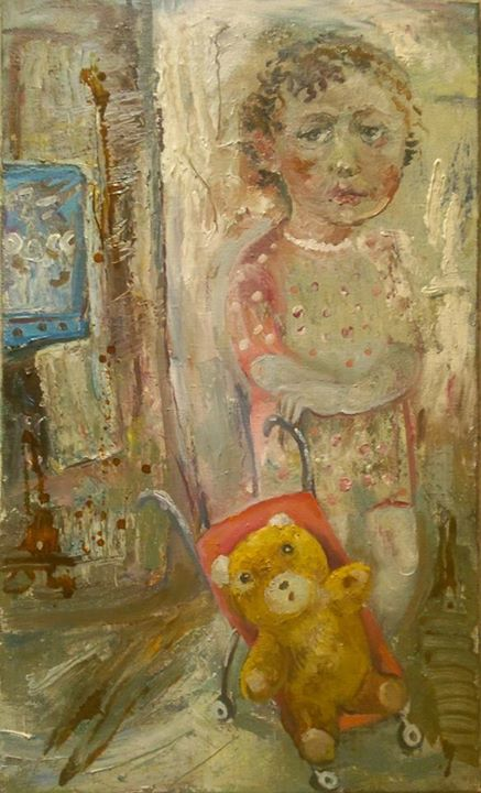 art-moiseeva.ru - Girl with yellow bear