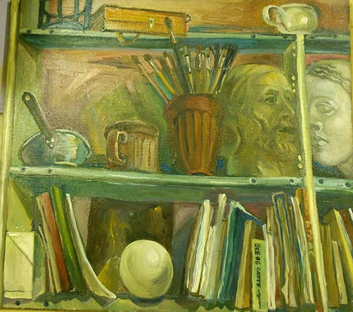 art-moiseeva.ru - shelf in my studio
