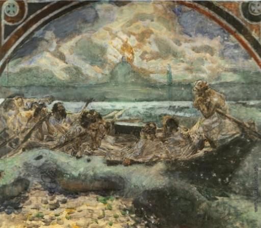 М.Врубель. Хождение по водам