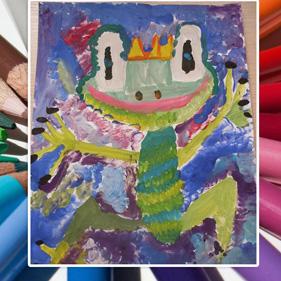 Рисунок Алены, моей ученицы