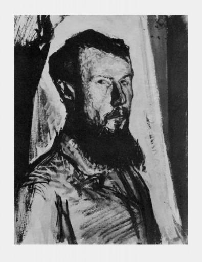 В.А. Фаворский, автопортрет 1912 г.